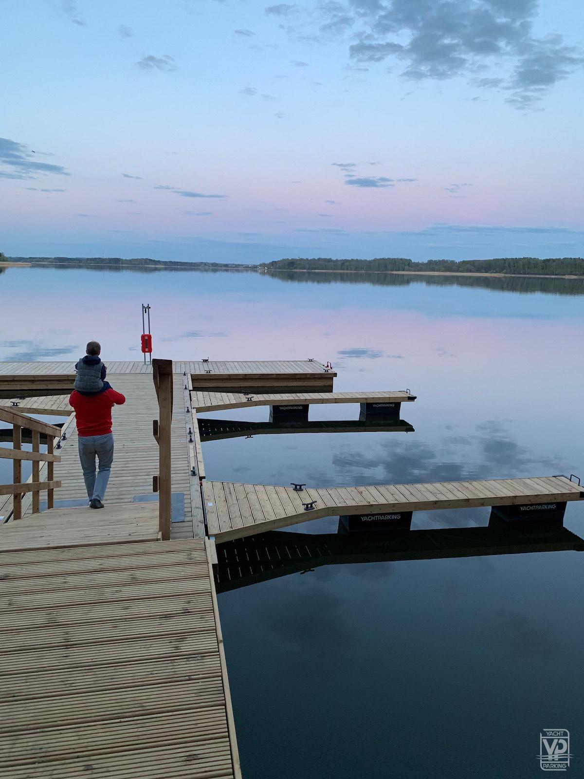 Яхт-клуб в коттеджном поселке Lake Club
